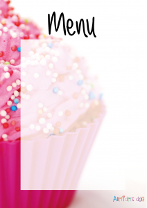 Pink_cupcake_børnefødselsdag_menu