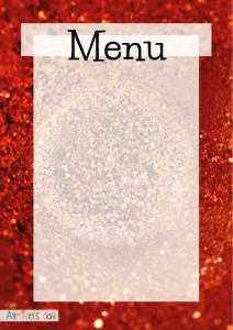 Rød_glimmer_menu_børnefødselsdag
