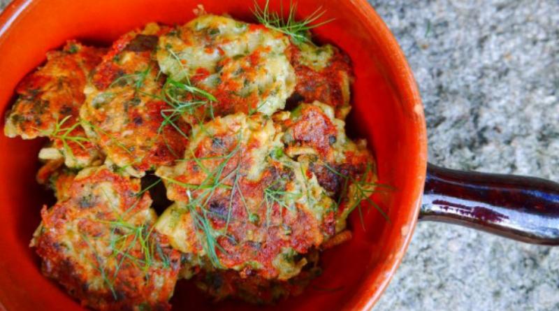 grønsagsfrikadeller med kartoffel
