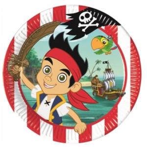 Jake og Piraterne_tallerken