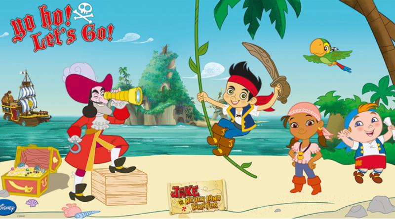 Jake og piraterne, disney jake og piraterne, fødselsdag jake og piraterne, jake og piraterne fødselsdag, fødelsdagstema jake og piraterne