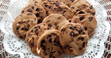 Cookies med chokolade opskrift alletiders dag børnefødselsdag