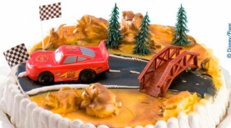 Cars-biler-kage