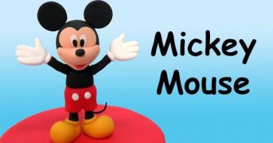 Mickey-mouse-fondant-figur