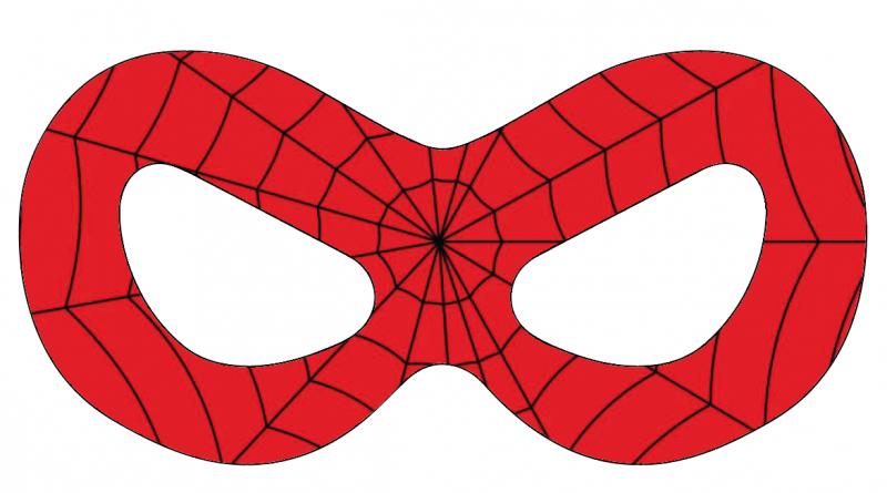 gratis-Spiderman-maske