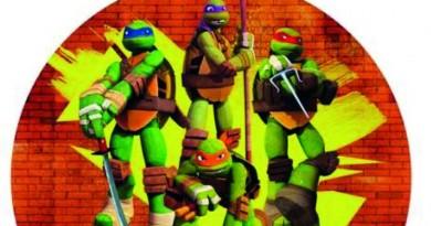 Spiselige billeder med Ninja Turtles alletiders dag børnefødselsdag inspiration