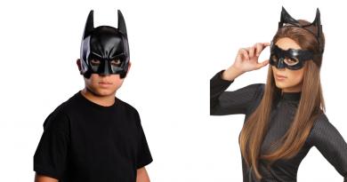 Batman-masker-fødselsdag