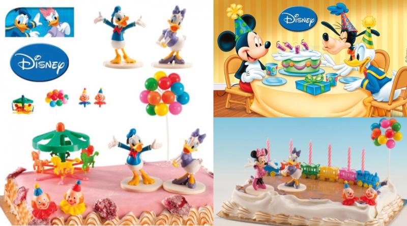 Disney-kage-tilbehør