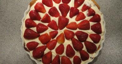 jordbærtærte opskrift alletidersdag børnefødselsdag inspiration til fødselsdag