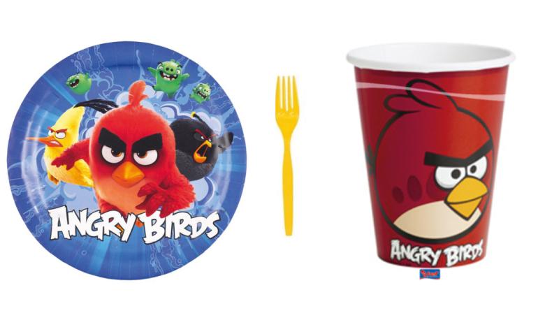 Angry-bird-fødselsdag-bord