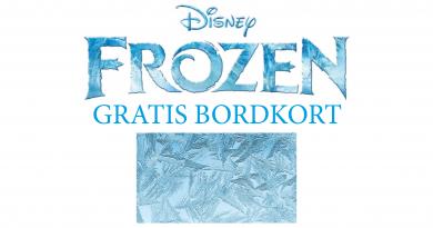 Disney-Frost-gratis-bordkort
