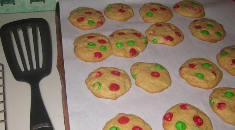 cookies-med-m-&-m-børnefødselsdag