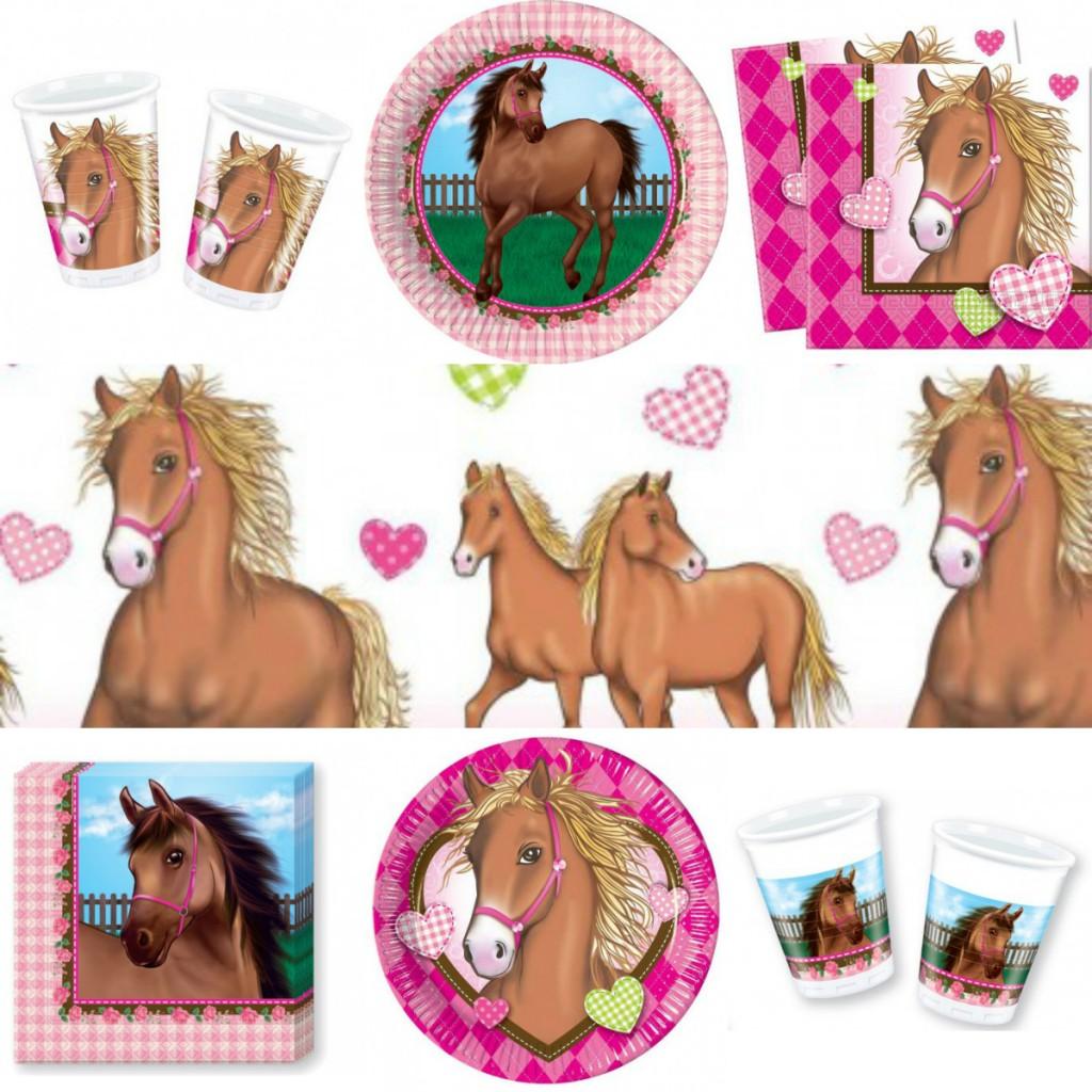 børnefødselsdag med hestetema fest for hestepige hestekage hest fødselsdag