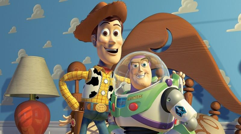 Borddækning til Toy Story fødselsdag