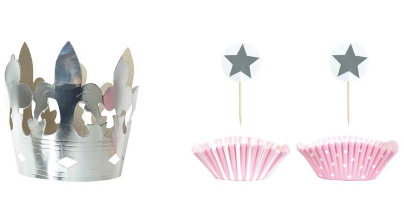 børnefødselsdag, prinsessefødselsdag, inspiration