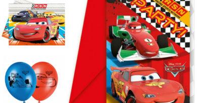 borddækning til cars fødselsdag, mcqueen fødselsdag, cars fest, cars temafest, fødselsdagsfest cars, cars 3, biler 3, inspiration til fødselsdagen, alletiders dag, alletiders fødselsdag, cars indbydelser, cars festartikler, cars premiere