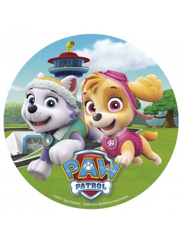 paw patrol kage paw patrol sukkerprint paw patrol spiseligt billede paw patrol