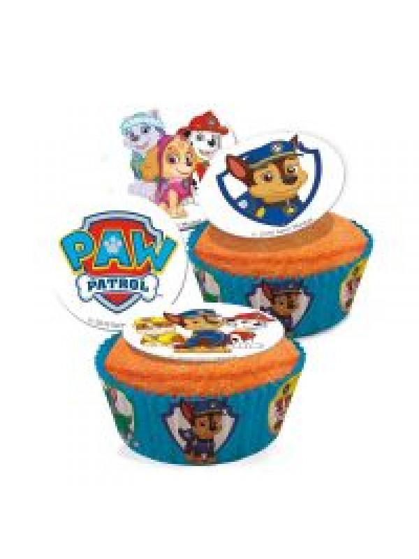 paw patrol muffins sukkerprint paw patrol kage