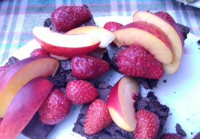 Brownies opskrift – Brownies med frugt