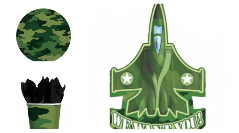 camouflage fødselsdag, camouflage borddækning, camo fødselsdag, camouflage temafest, militær fødselsdag, militær temafest, soldat fødselsdag, soldat temafest, inspiration til børnefødselsdag, alletiders dag