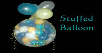 balloner i balloner, børnefødselsdag, inspiration til børnefødselsdag