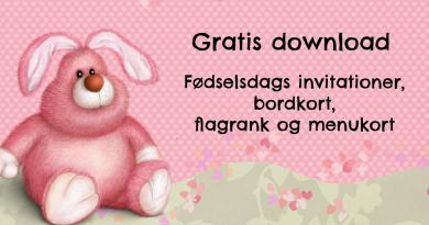 6585dee4 Download: Tilbehør til lyserød Kanin fødselsdag