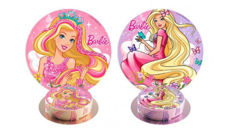 barbie kage, barbie fødselsdags kage, barbie spiseligt papir, kage med barbie motiv, barbie motiv kage, barbie, fødelsdagskage med barbie, barbie kage, barbie kagen, kage med barbie, barbie kage figur, kage barbie figur