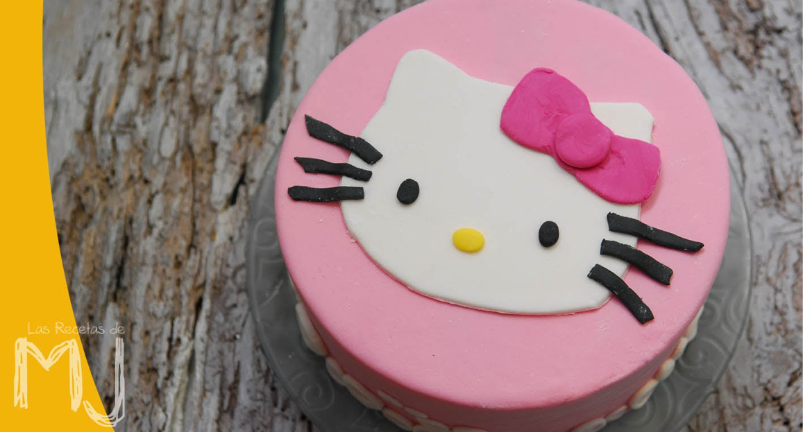 Hello Kitty Figur I Fondant Alletiders Dag