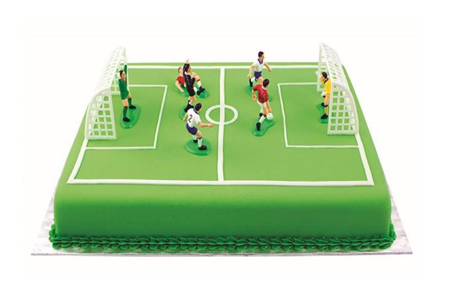 Fodbold-fødselsdagskage