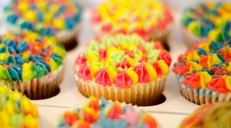Banan cupcakes opskrift alletidersdag børnefødselsdag inspiration
