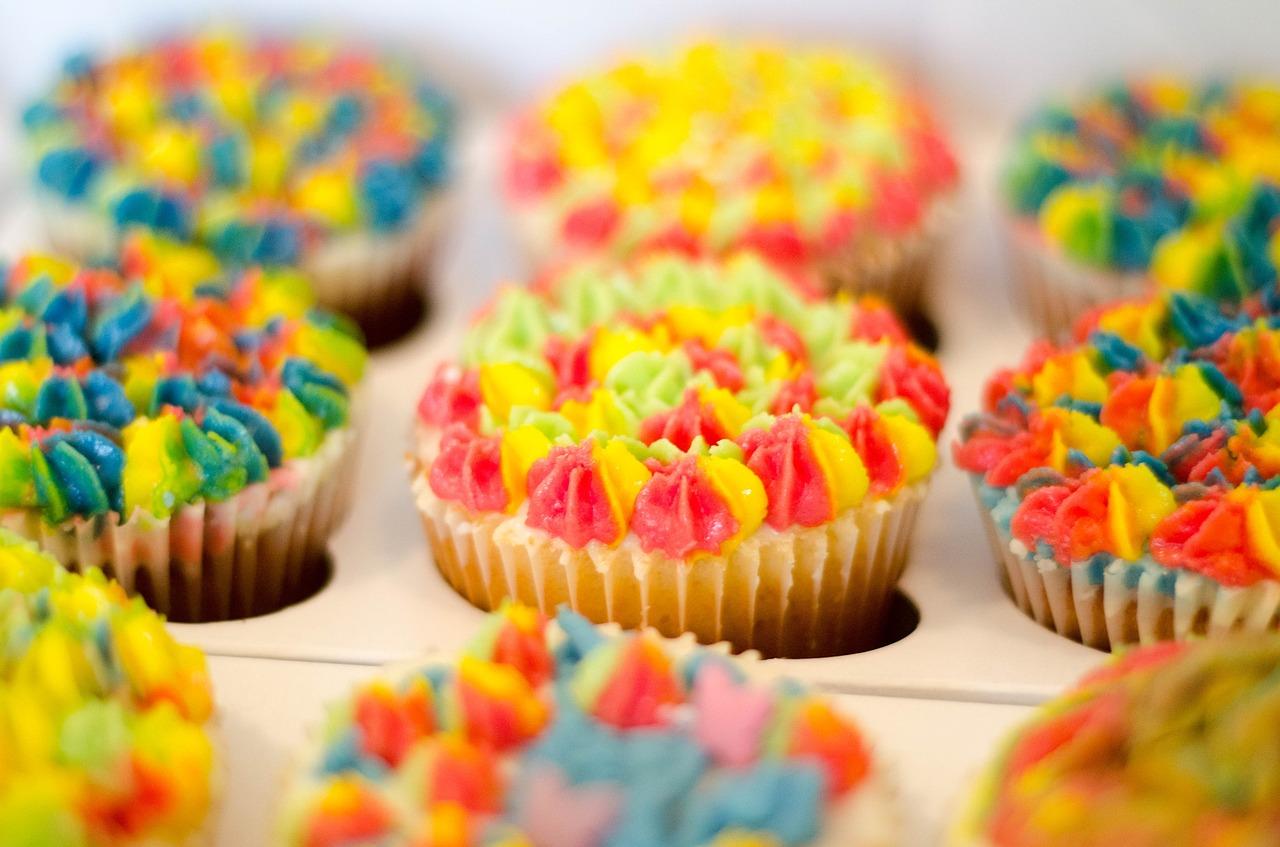 Børnefødselsdag Inspiration banan cupcakes opskrift alletidersdag børnefødselsdag inspiration