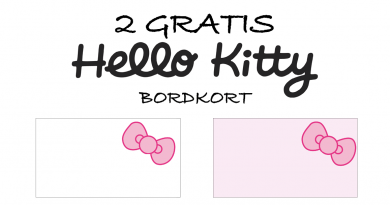 hello kitty bordkort, gratis hello kitty, hello kitty fødselsdag