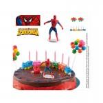 dekorationssaet-spiderman-4-dele