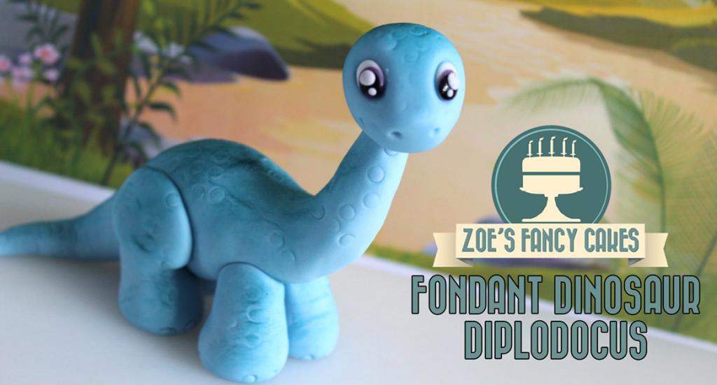 dinosaurus-fondant-figur