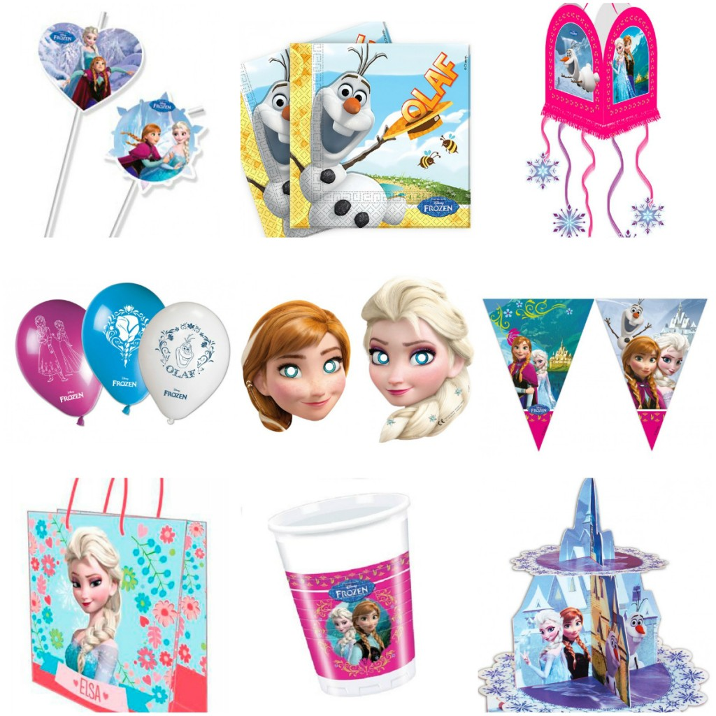 frost fødselsdag inspiration alletidersdag børnefødselsdag frost tema