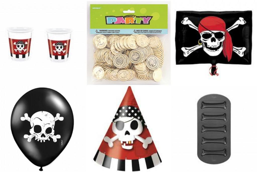 pirat børnefødselsdag pirattema fødselsdag