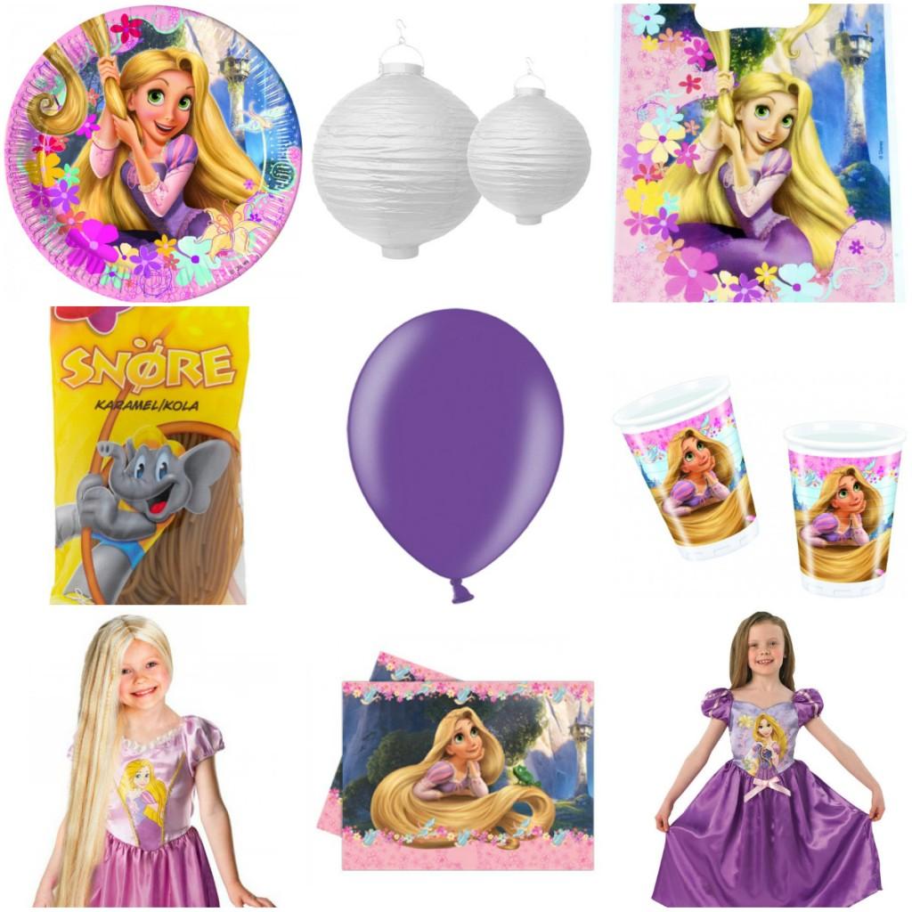 rapunzel fødselsdag børnefødselsdag inspiration to på flugt