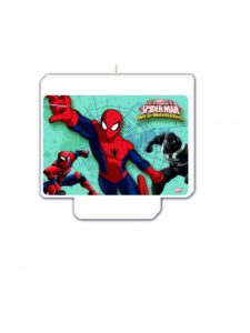 spiderman kagelys spiderman lys til lagkage spiderman kage