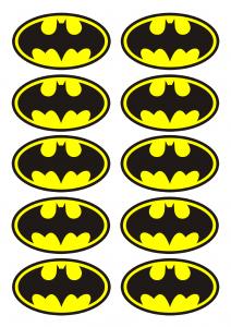 4 nemme og seje batman cupcakes alletiders dag. Black Bedroom Furniture Sets. Home Design Ideas