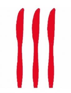 Røde-plastik-knive