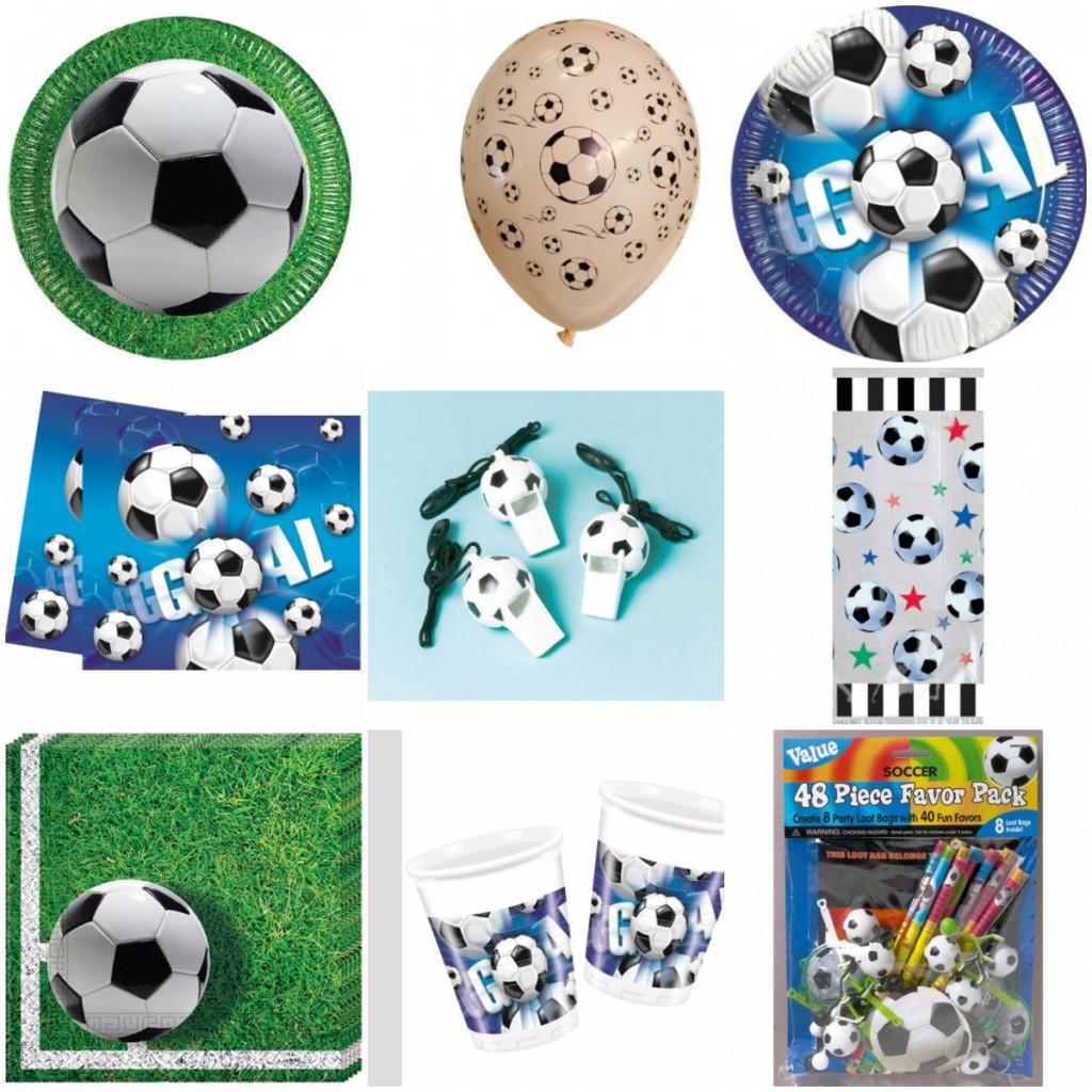 fodbold børnefødselsdag Fest i boldklubben fodboldfest dekoration til fodboldfest