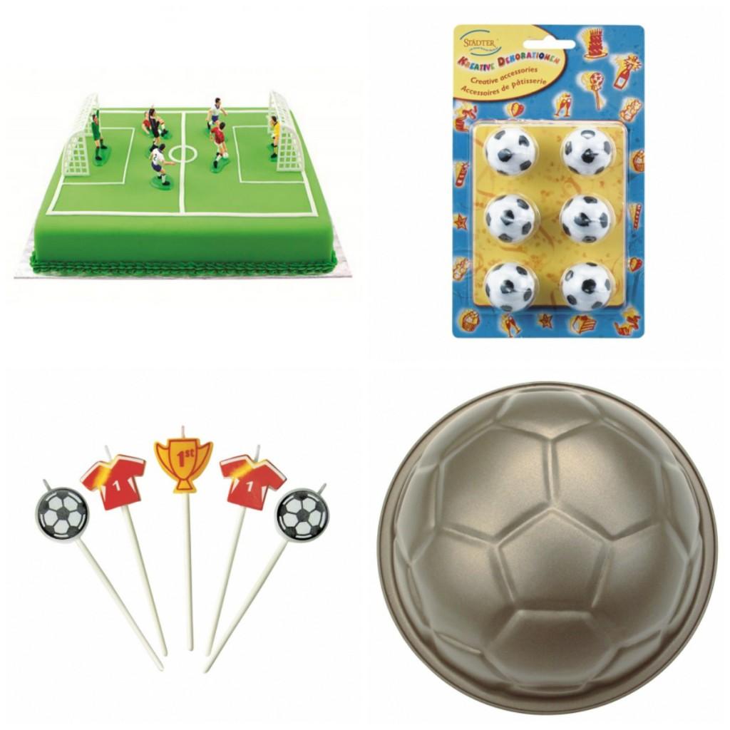 fodboldkage dekoration kage til fodboldfest