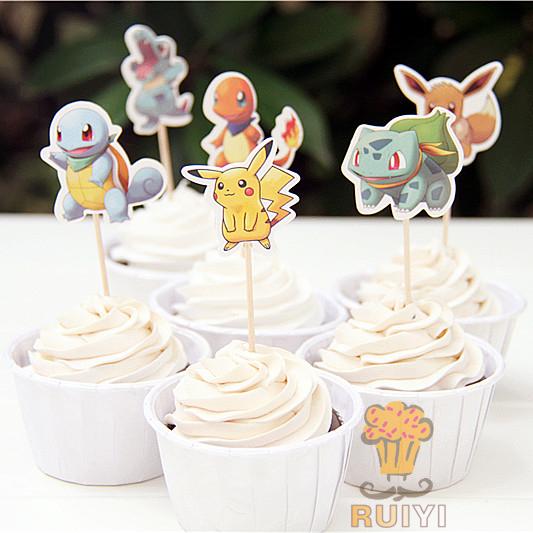 Pokemon muffins