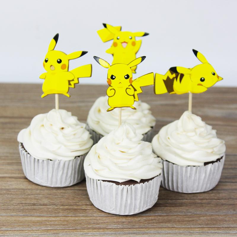 Pokemon muffins alletiders dag - Dekoration muffins ...