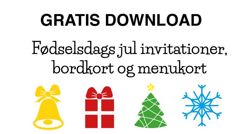 jule fødselsdag, fødselsdag med jule tema, jule tema fødselsdag, jule fødselsdag, jule børnefødselsdag, jule invitation, jule bordkort, jule bordpynt, jule menu