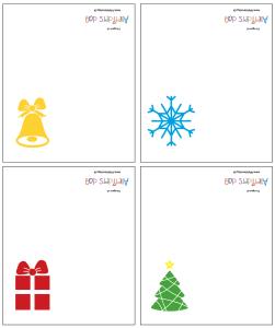 jule-bordkort