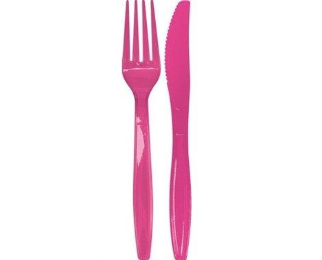 plastik-gafler-og-knive-i-pink