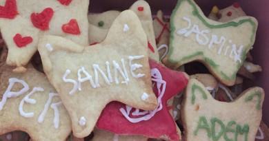 Pynte småkager