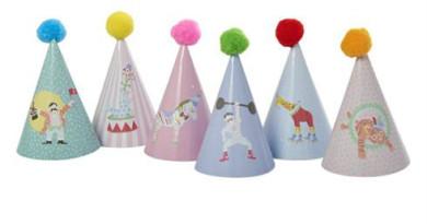 cirkus fest med cirkustema fødseldag med cirkustema cirkus festartikler cirkus børnefødselsdag cirkus