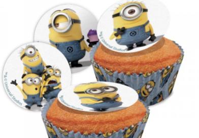Minions kageprint og kagetilbehør